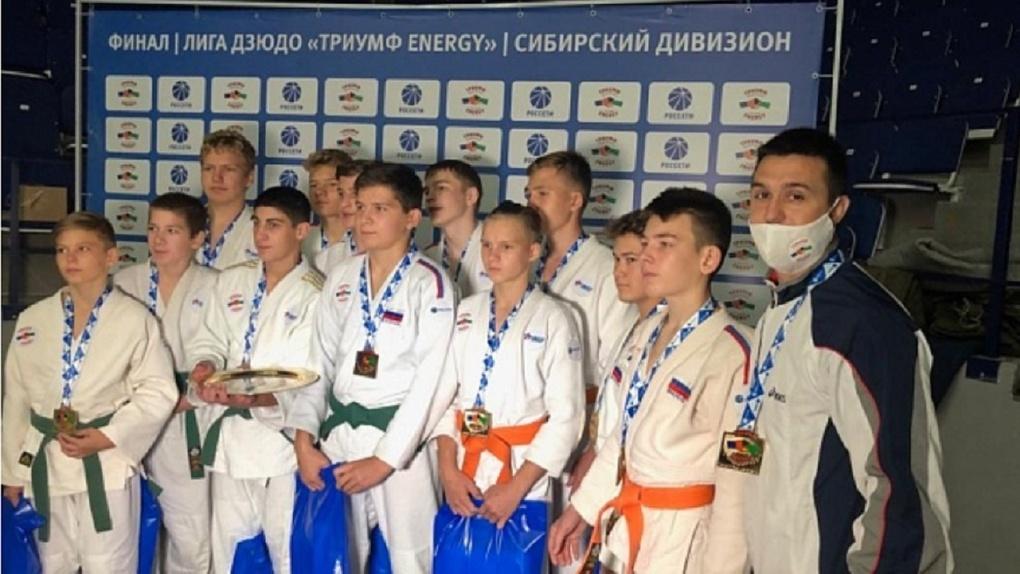 Юные дзюдоисты из Новосибирска победили в финале «Триумф Energy»
