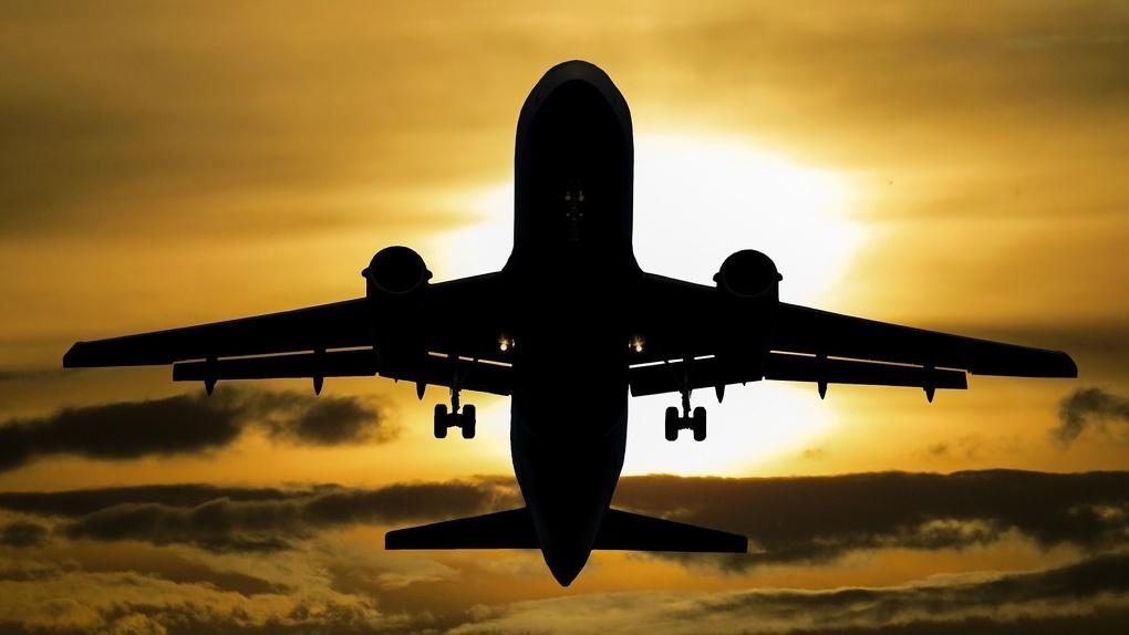 Самолёт из Санкт-Петербурга в Новосибирск задержали из-за сообщения о бомбе