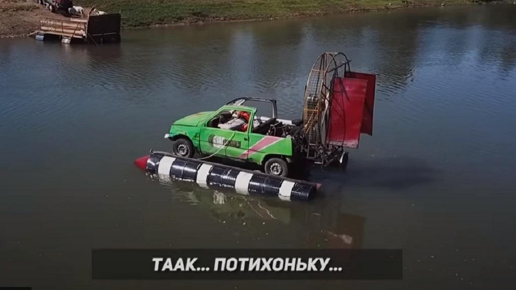 Новосибирцы показали, на что способен автомобиль «Ока»