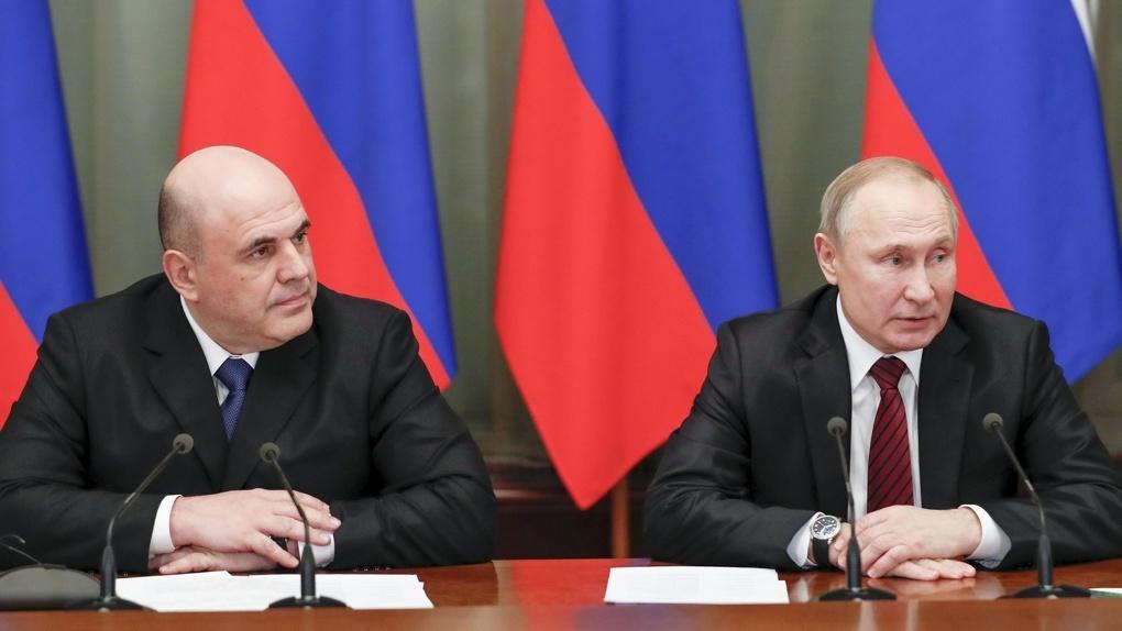 Михаил Мишустин заработал за год в два раза больше, чем Владимир Путин