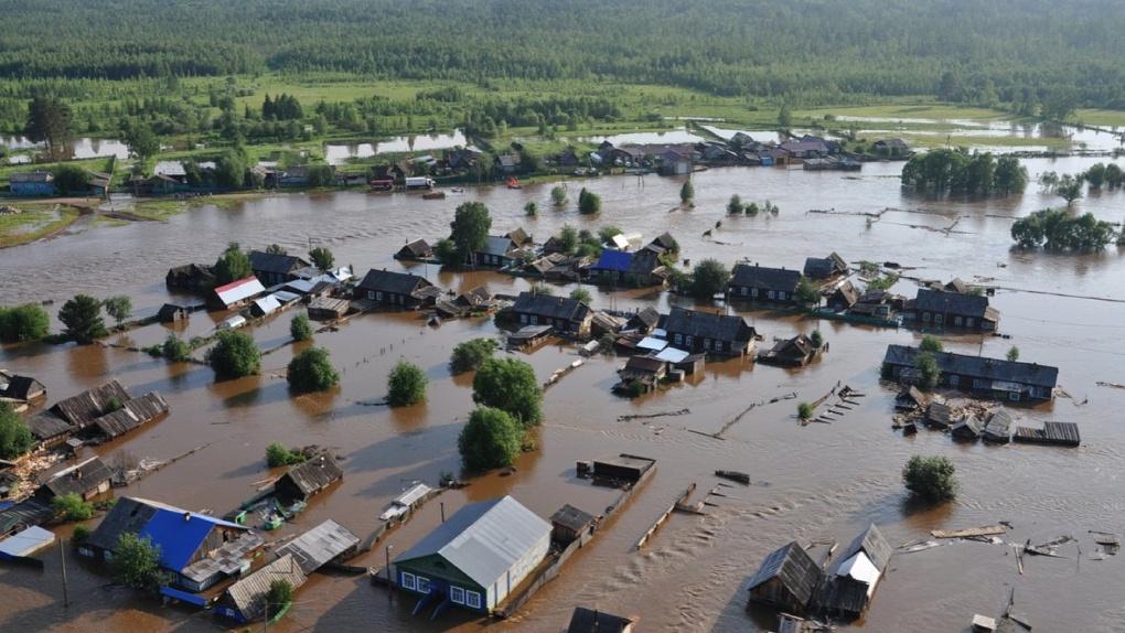 Омичи собирают гуманитарную помощь для тонущих жителей Иркутской области