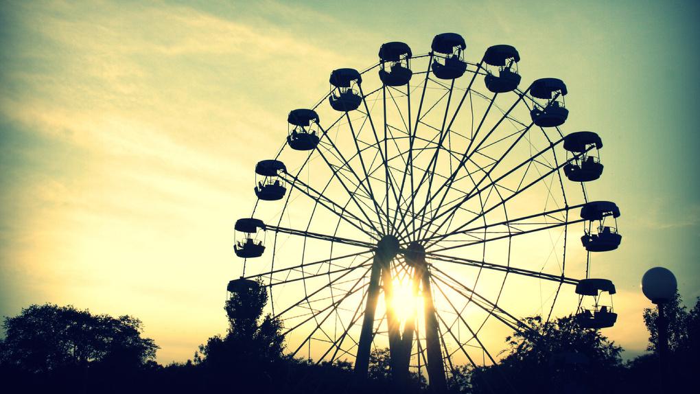 «Чертово колесо» в омских парках будут включать даже зимой