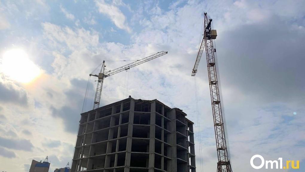 В Омске будут достраивать ещё один «проблемный» дом
