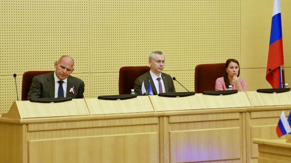 Семь приоритетов развития: в Новосибирске приняли предвыборную программу партии «Единой России»