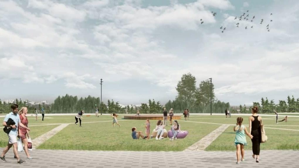 Рядом с новой ледовой ареной в Новосибирске построят парк за полмиллиарда рублей