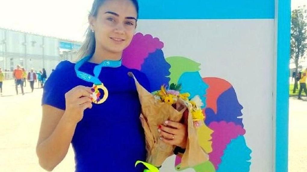 Омичка заняла второе место в забеге на трассе «Формулы-1»
