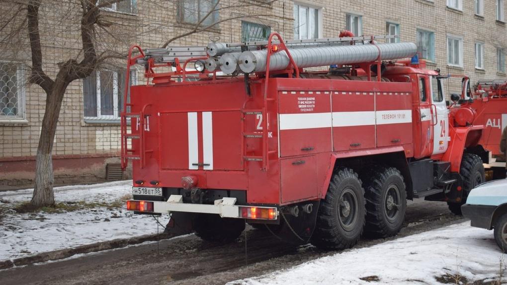 Пожар в супермаркете «Победа» в Омске произошел из-за морозильной камеры