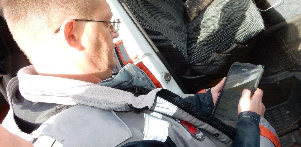 В Омске всем бригадам «скорой» выдали планшеты