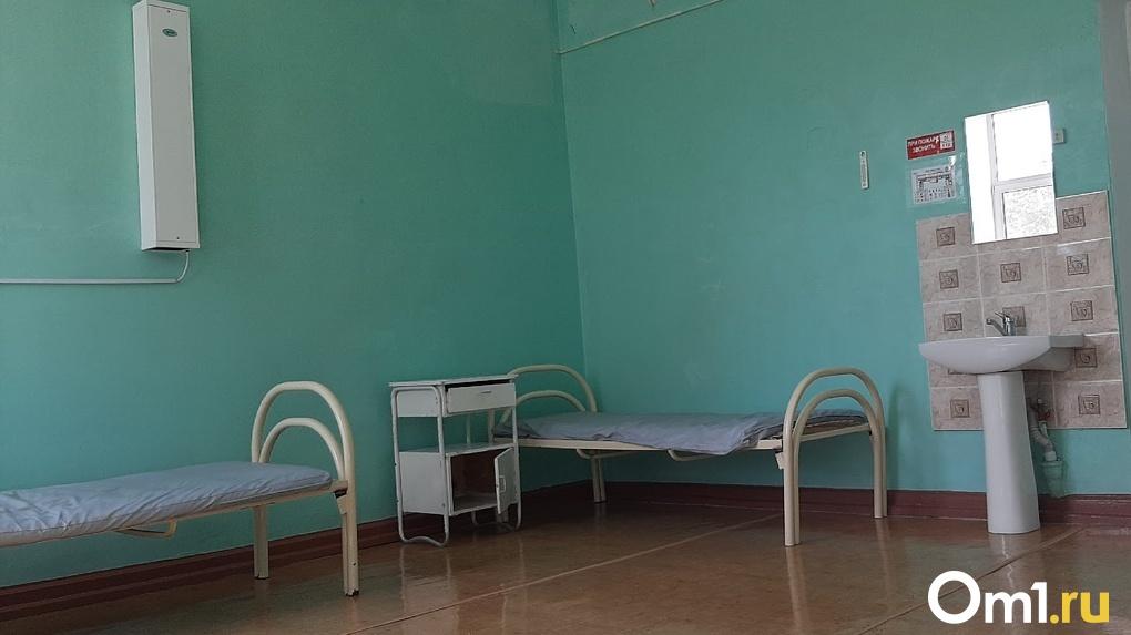 В районах Омской области начали работать четыре ковидных госпиталя