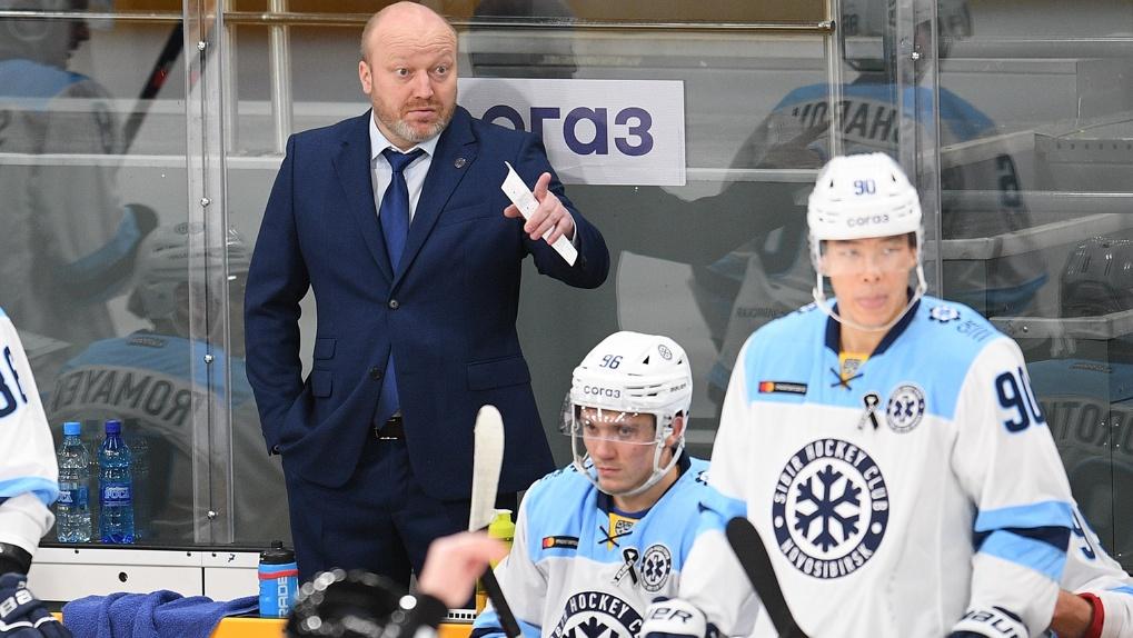 «Приедем домой, поговорим»: главный тренер ХК «Сибирь» прокомментировал третий провальный выездной матч