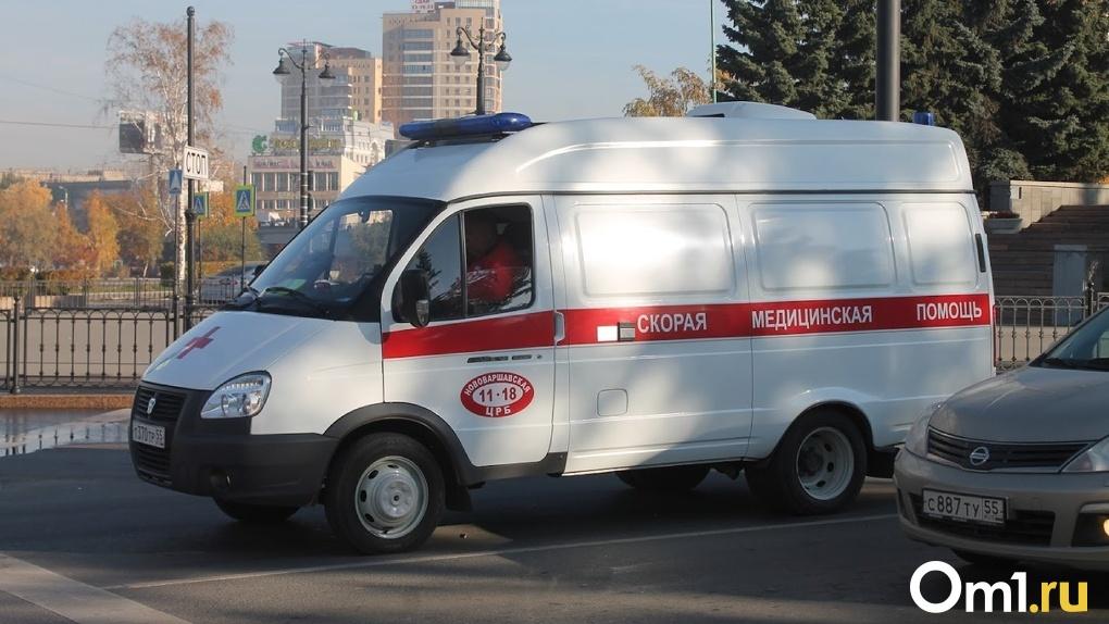 В Омске поймали пьяного водителя, который сбил женщину на пешеходе и скрылся