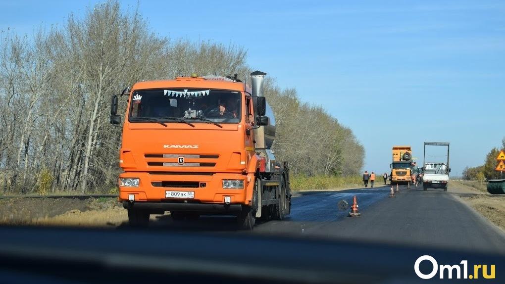 В Омске не будут укладывать асфальт во время дождя
