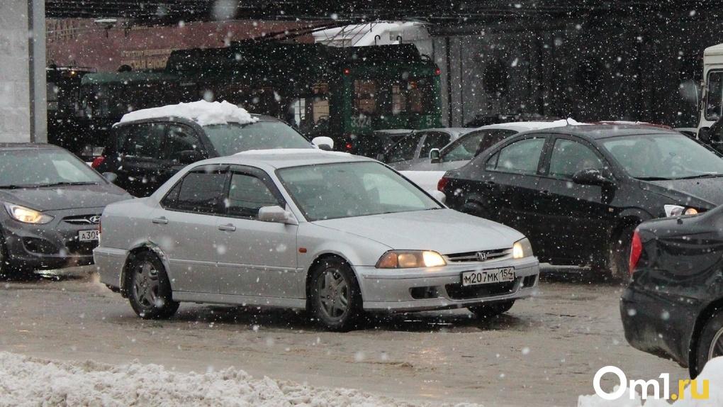 Первый снег в Новосибирске: как пережить день жестянщика