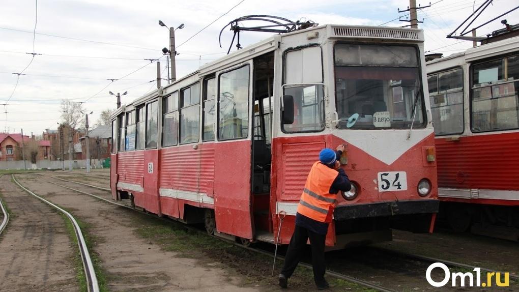 В Омске впервые с 1977 года отремонтируют трамвайные пути
