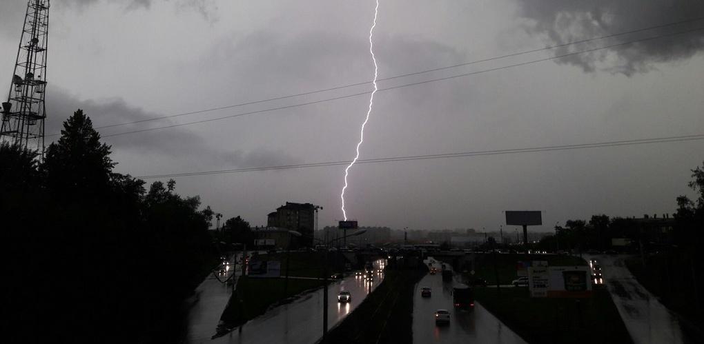 Как Омск переживал непогоду: фоторепортаж из соцсетей