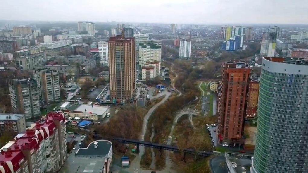 В Новосибирске увеличили площадь парка в пойме реки Ельцовка-1