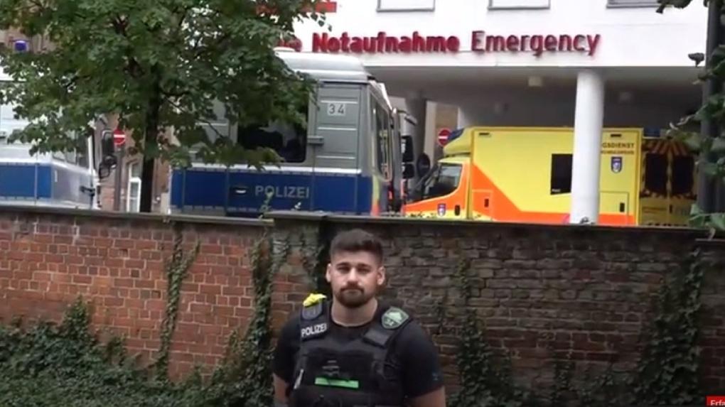 Навального доставили из Омска в немецкую клинику «Шарите»