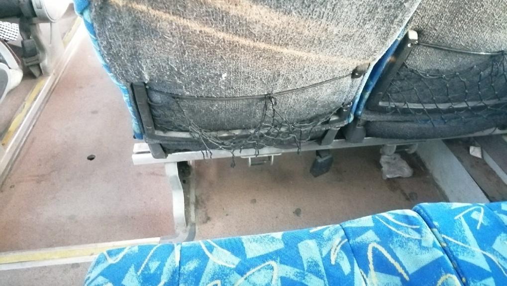«Лютая грязь»: новосибирцы возмущены ужасным состоянием общественного транспорта до аэропорта Толмачёво