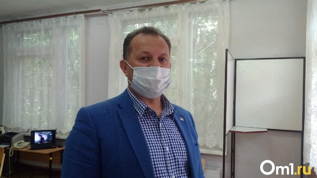 Координатор омского отделения ЛДПР Клепиков проголосовал за поправки в Конституцию