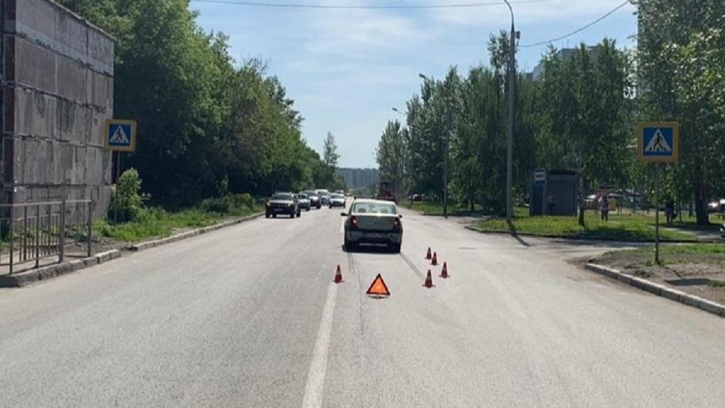 В Новосибирске водитель сбил семилетнего велосипедиста