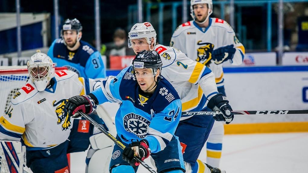 ХК «Сибирь» уступила сочинским хоккеистам и вошла в плей-офф
