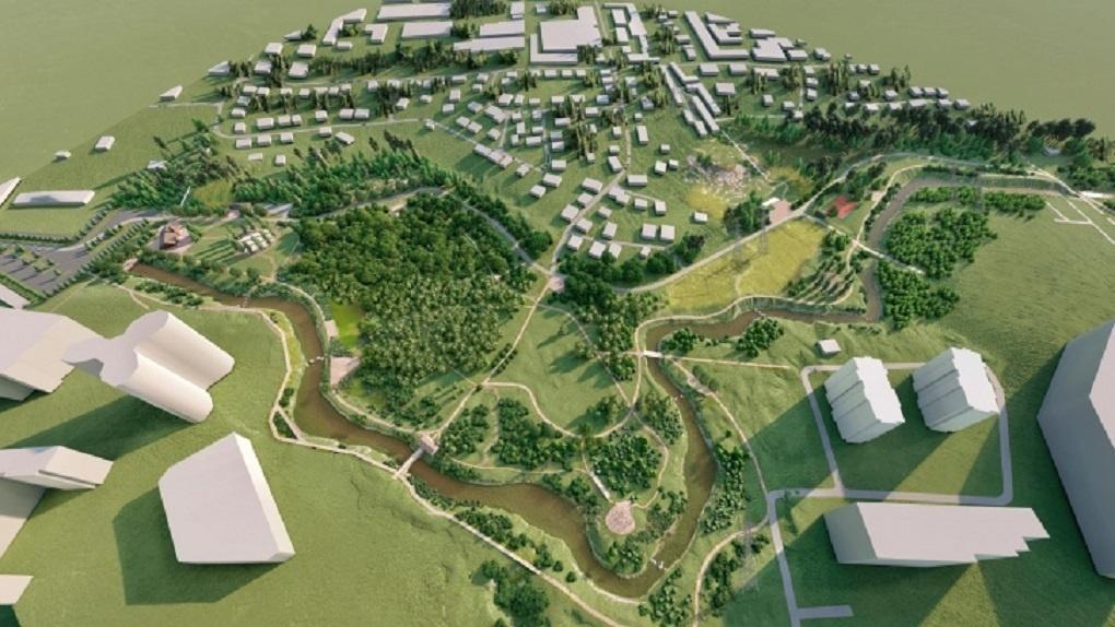 «Водяные мельницы и кирпичный завод»: в Новосибирске построят уникальный ландшафтный парк