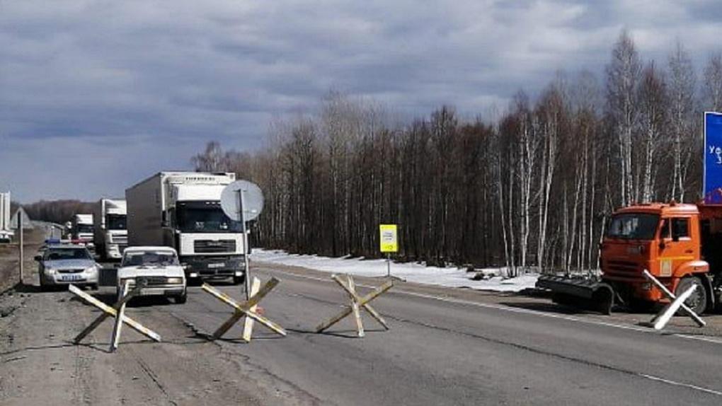 Официально: в Новосибирскую область ограничили въезд автотранспорта из-за коронавируса