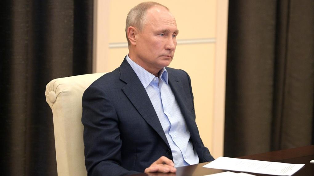 Путин проводит совещание по поэтапному снятию режима самоизоляции. LIVE