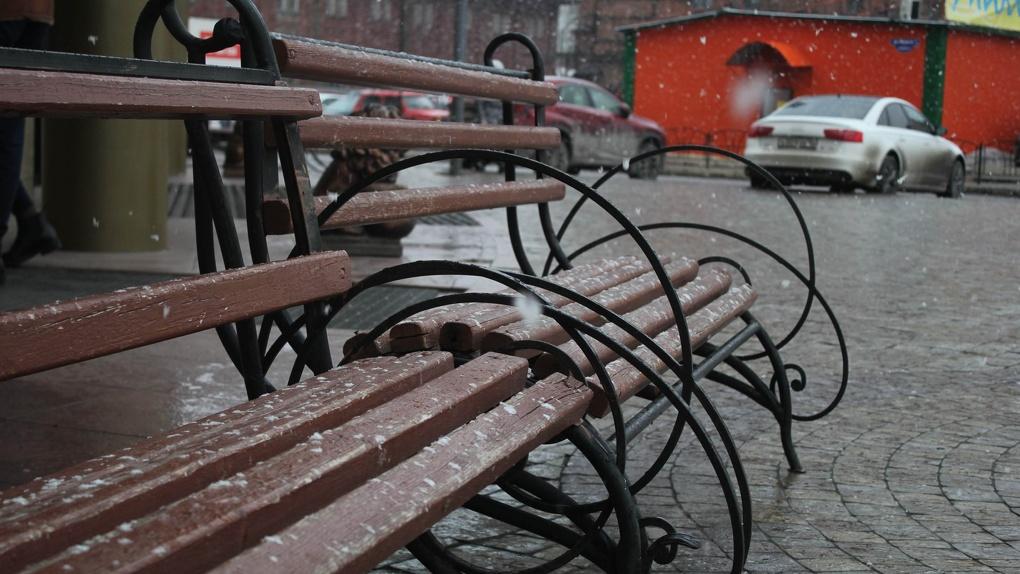 Омские дороги, скверы и парки дезинфицируют хлоросодержащим средством