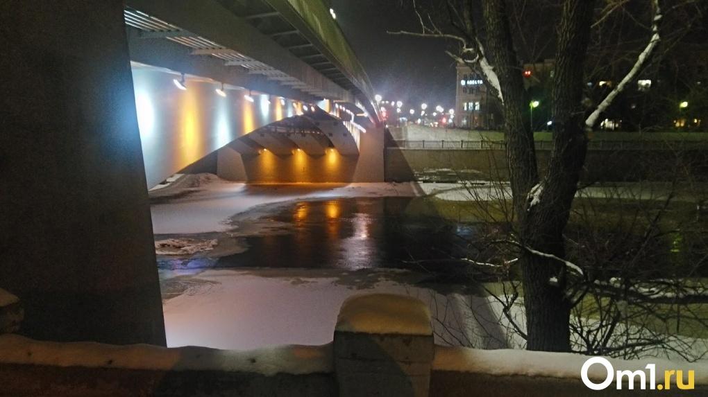 В Омске двух парней застали на льду за неприличным занятием