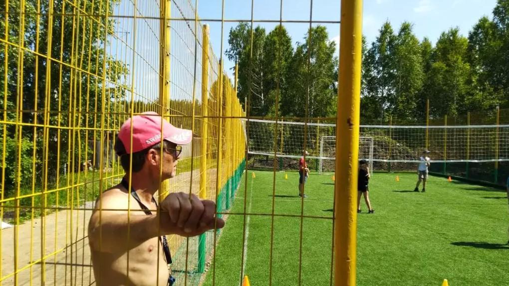 Новосибирский тренер превратил дачу в спортбазу