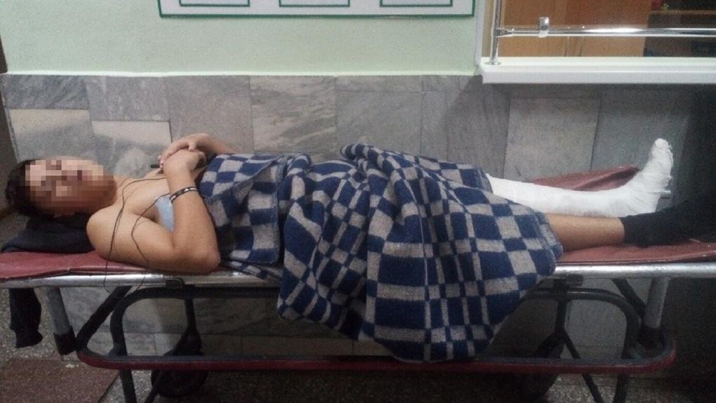 Старший лейтенант омской полиции сбил подростка на пешеходном переходе