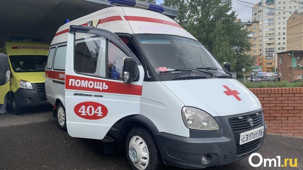 В Омске под колёса машины попал 9-летний мальчик