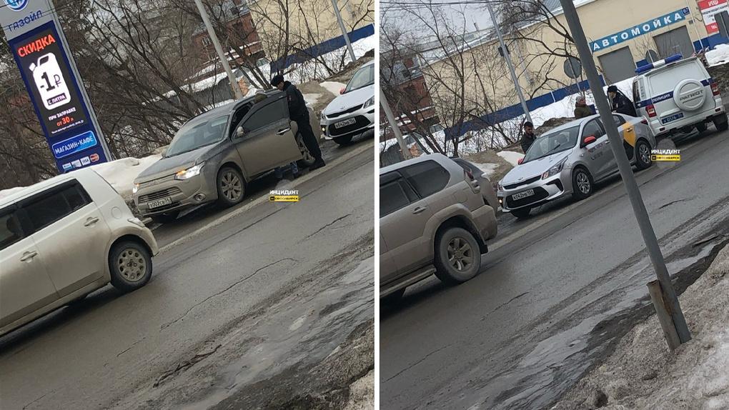 В Новосибирске таксиста пытались застрелить на глазах у пассажирки
