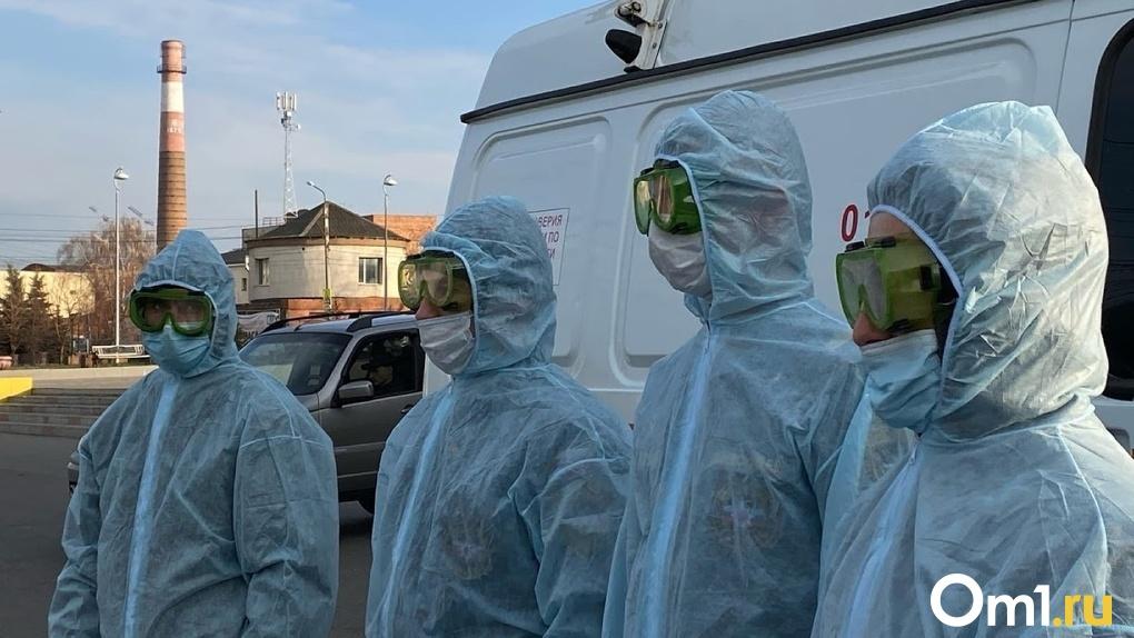 Заражённых COVID-19 выявили сразу в 22 районах Омской области за сутки