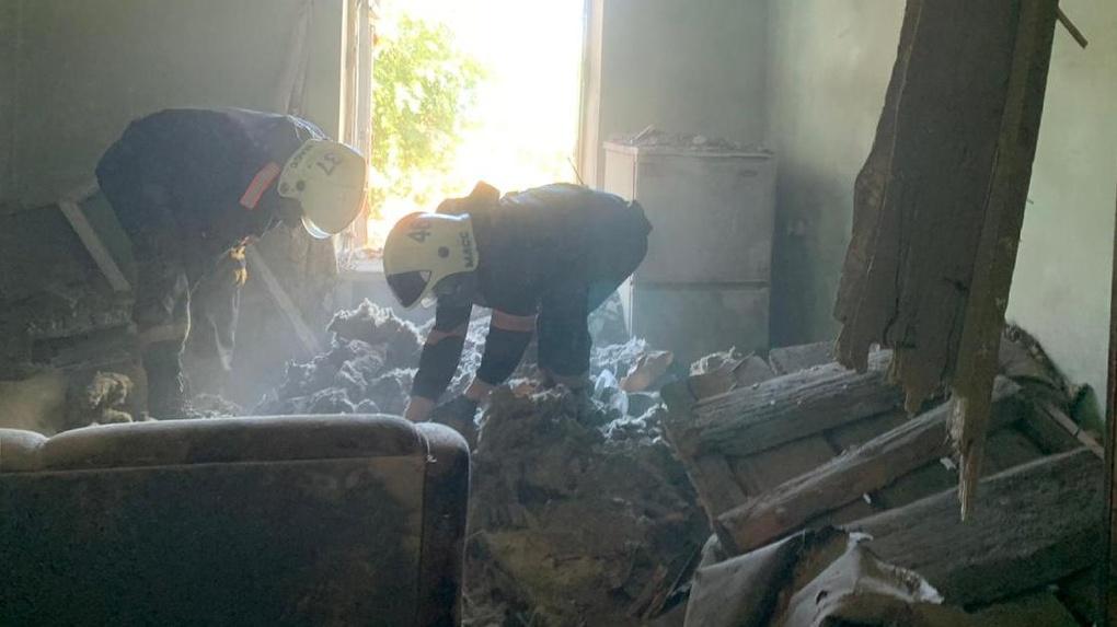 В Новосибирске пенсионер погиб под завалами дома