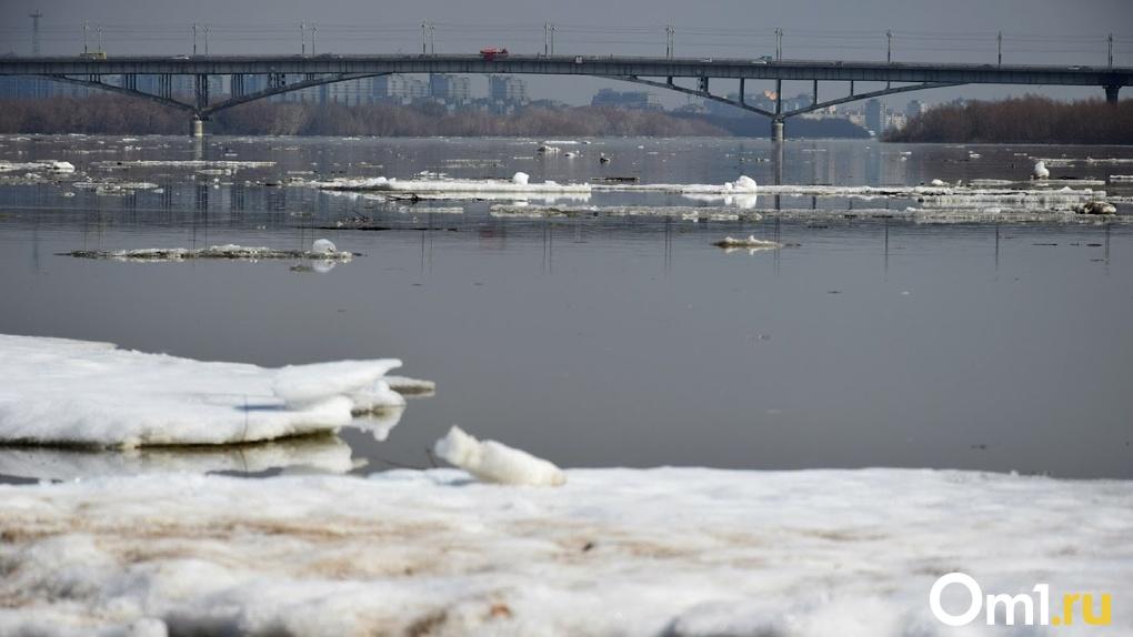 Соблюдаем меры безопасности: в Омске начали замерзать водоёмы