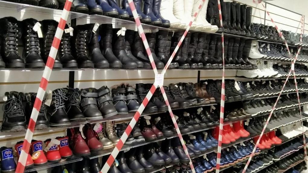 В Новосибирской области арестовали 1338 пар контрафактной обуви