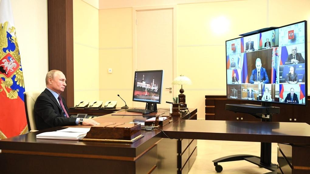 Омскую поликлинику привели в пример успешной работы по борьбе с коронавирусом на совещании с президентом