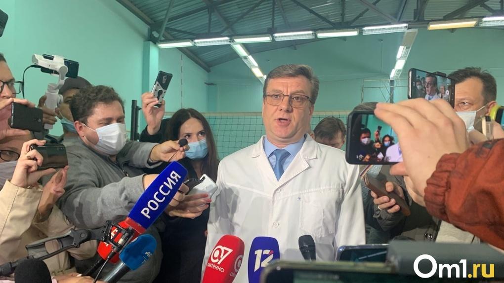 Бурков хочет увеличить количество замов главы омского Минздрава
