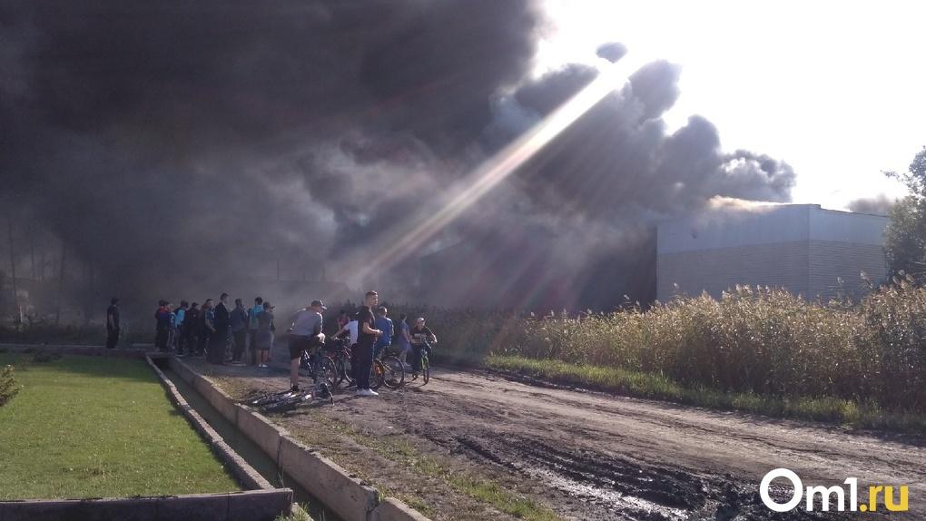 В Исилькуле загорелась знаменитая школа