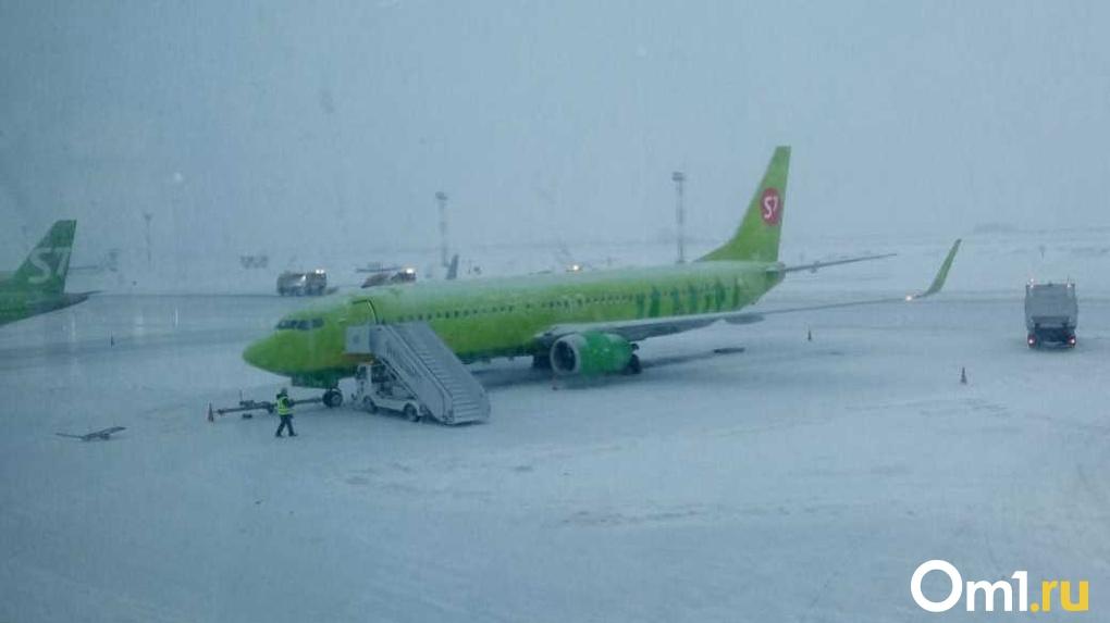 Новосибирский аэропорт Толмачёво перешёл на зимнее расписание