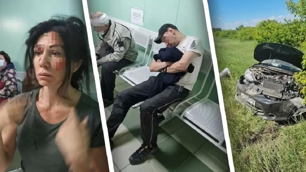 Мы все переломанные, а у него ни царапины: шокирующие подробности тройного ДТП под Новосибирском