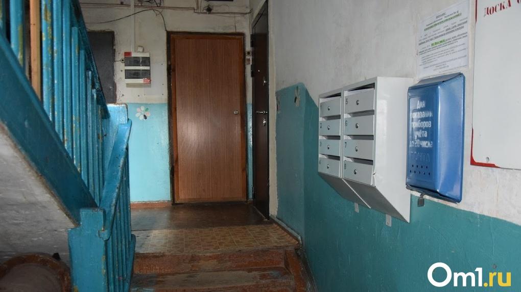Утренний скандал между соседями в Омске закончился жестоким убийством