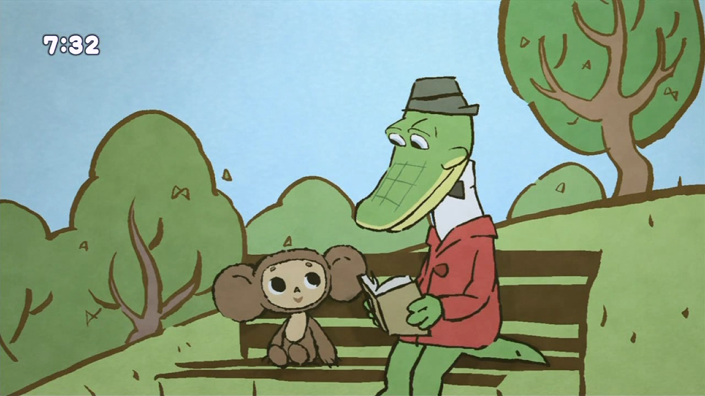 В российский прокат выходит японский мультфильм про Чебурашку