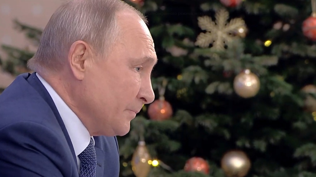 «Почему вы считаете, что мы придурки?». Самые яркие фразы Владимира Путина, прозвучавшие сегодня