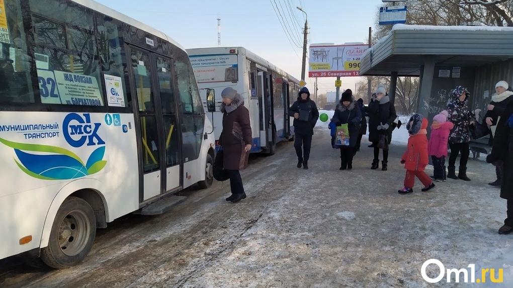 ДПС сегодня массово проверит омские автобусы