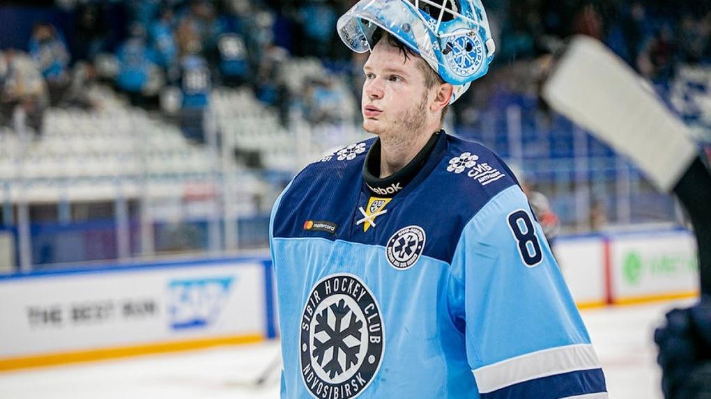 Новосибирский вратарь Алексей Красиков переходит в хоккейную команду «Сочи»