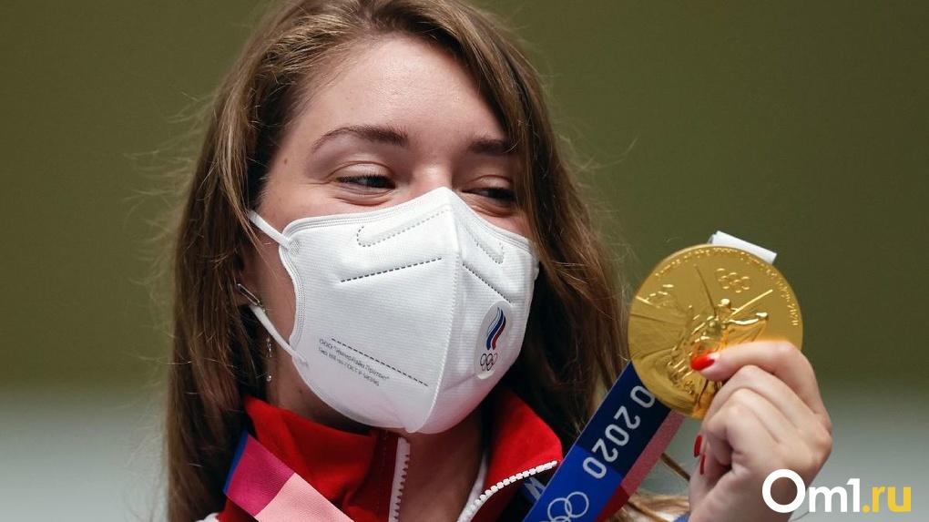 Омичка Виталина Бацарашкина рассказала сколько весит олимпийская медаль