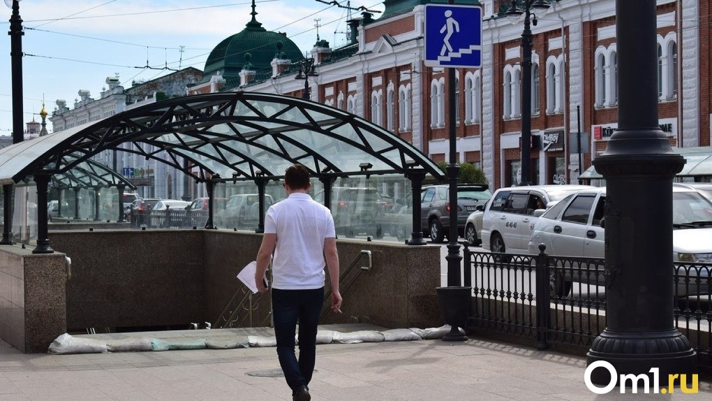 В Омске нашли тусовщиков, которые танцевали на крыше перехода на улице Ленина